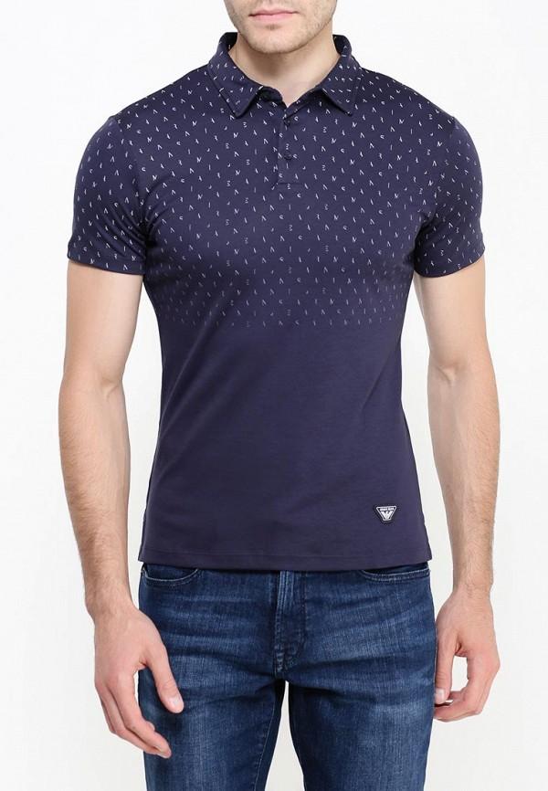 Мужские поло Armani Jeans (Армани Джинс) 6x6f17 6JPRZ: изображение 4