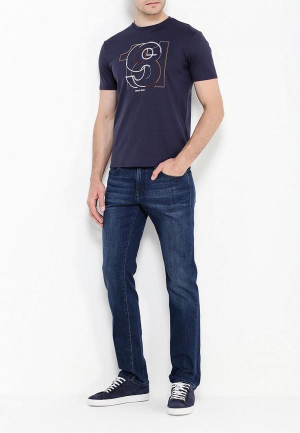 Футболка с надписями Armani Jeans (Армани Джинс) 6x6t37 6JPRZ: изображение 3