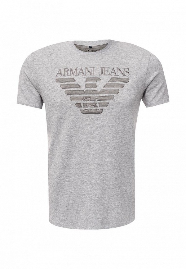 Футболка с надписями Armani Jeans (Армани Джинс) 6x6t57 6JPZZ
