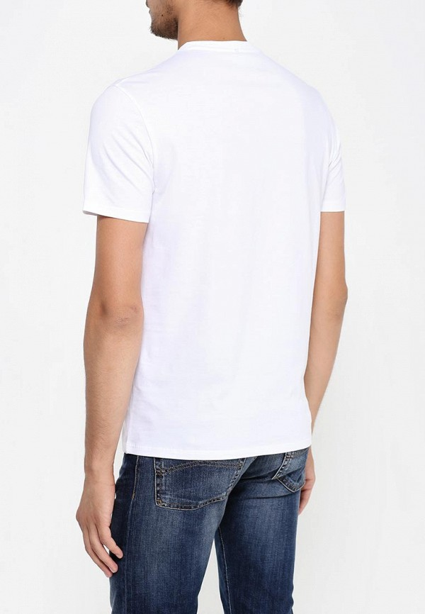 Футболка с надписями Armani Jeans (Армани Джинс) 6x6t13 6J00Z: изображение 5