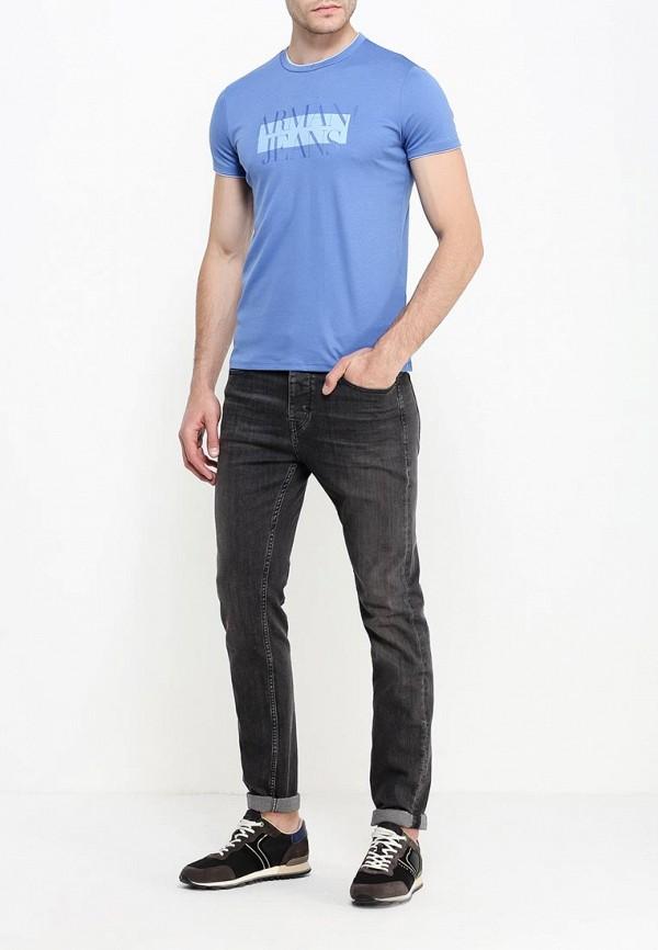 Футболка с надписями Armani Jeans (Армани Джинс) 6x6t30 6JPRZ: изображение 2