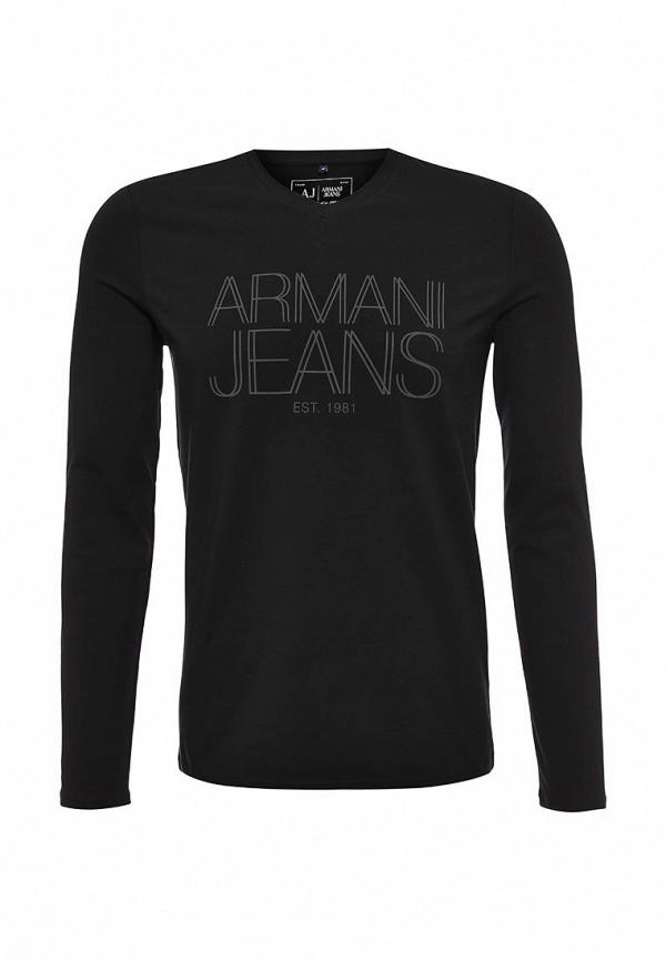 Футболка с надписями Armani Jeans (Армани Джинс) 6x6t11 6J0AZ: изображение 1