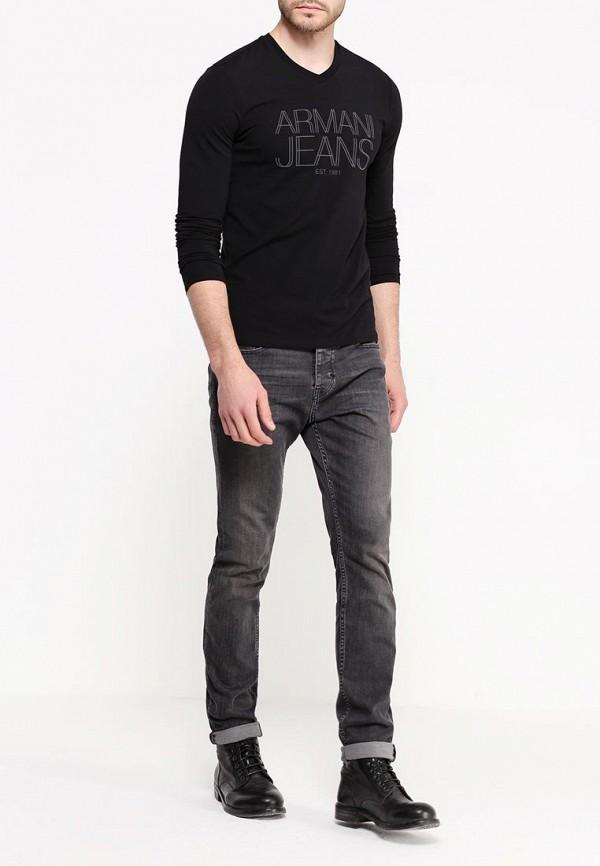 Футболка с надписями Armani Jeans (Армани Джинс) 6x6t11 6J0AZ: изображение 3