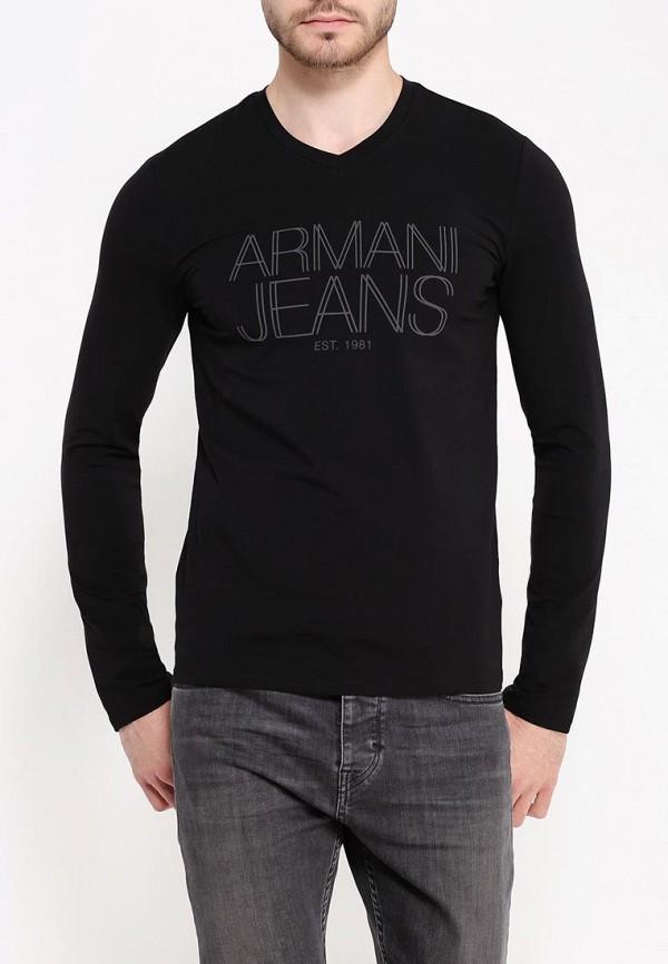 Футболка с надписями Armani Jeans (Армани Джинс) 6x6t11 6J0AZ: изображение 4