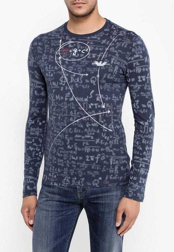 Футболка с надписями Armani Jeans (Армани Джинс) 6x6t72 6J0KZ: изображение 4