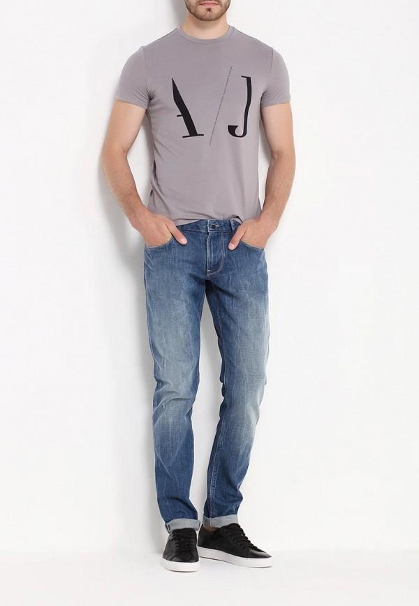 Зауженные джинсы Armani Jeans (Армани Джинс) 6x6j06 6D0FZ: изображение 2