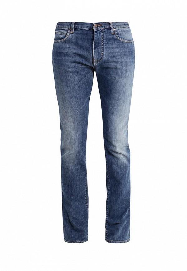 Мужские прямые джинсы Armani Jeans (Армани Джинс) 6x6j45 6D04Z: изображение 1