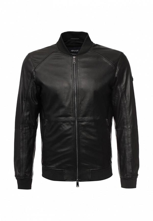 Кожаная куртка Armani Jeans (Армани Джинс) 3y6b57 6LBDZ