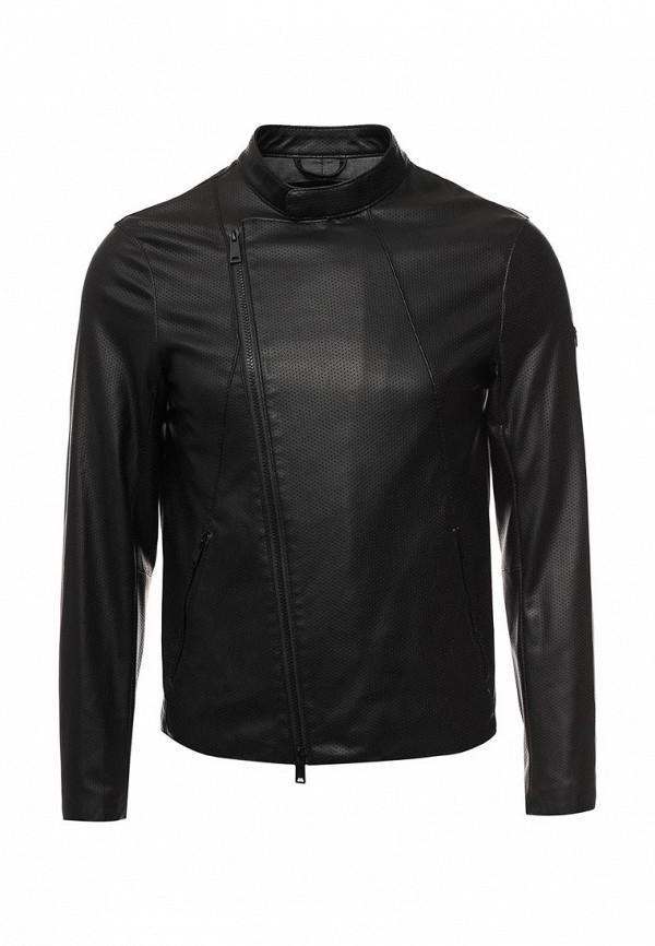 Кожаная куртка Armani Jeans (Армани Джинс) 3y6b79 6EBCZ