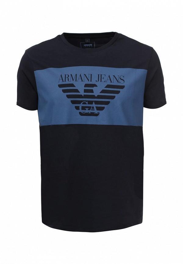 8497b17185f86 Мужская футболка Armani Jeans (Армани Джинс) 3y6t24 6J00Z: изображение 1