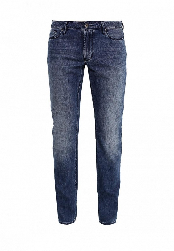 Мужские прямые джинсы Armani Jeans (Армани Джинс) 3Y6J06 6DBRZ