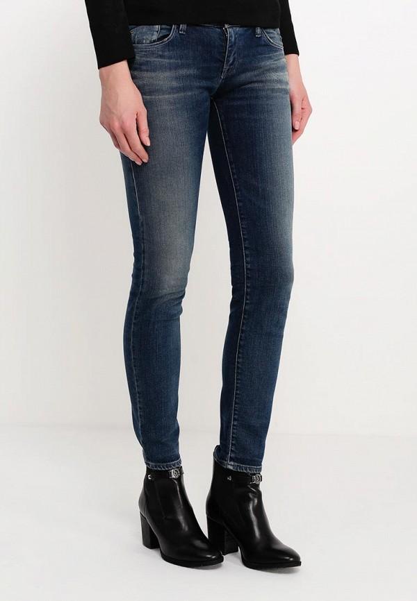 Зауженные джинсы Armani Jeans (Армани Джинс) B5J06 5M: изображение 3