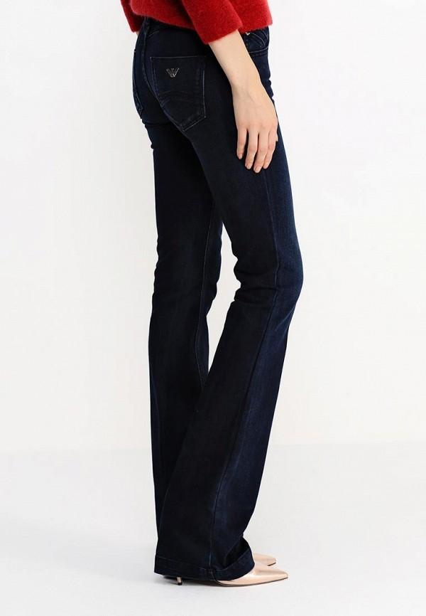 Широкие и расклешенные джинсы Armani Jeans (Армани Джинс) B5J07 1G: изображение 4