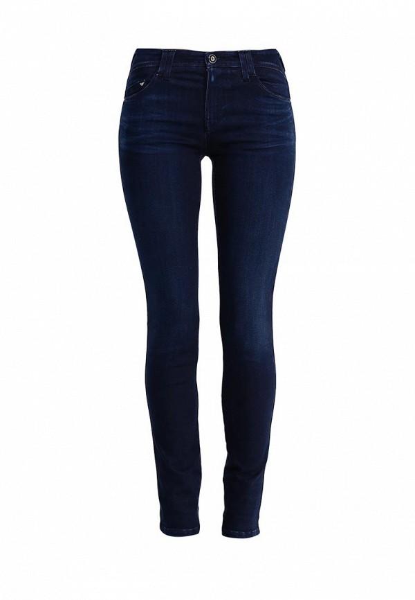 Зауженные джинсы Armani Jeans (Армани Джинс) B5J28 5E: изображение 1
