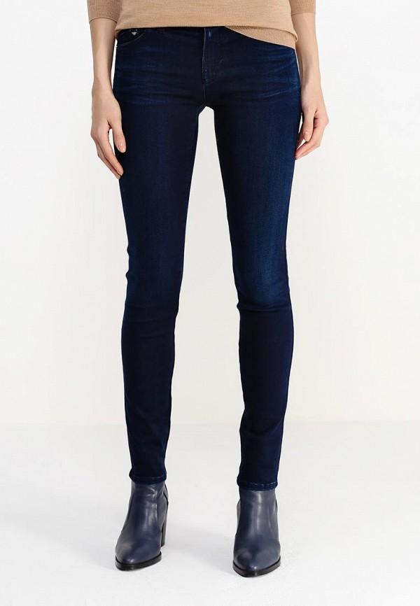 Зауженные джинсы Armani Jeans (Армани Джинс) B5J28 5E: изображение 3
