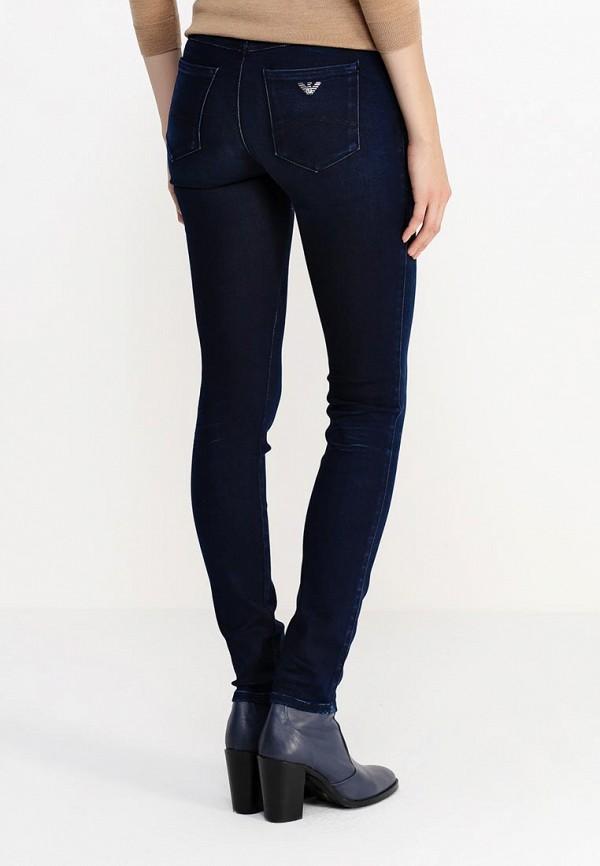 Зауженные джинсы Armani Jeans (Армани Джинс) B5J28 5E: изображение 4