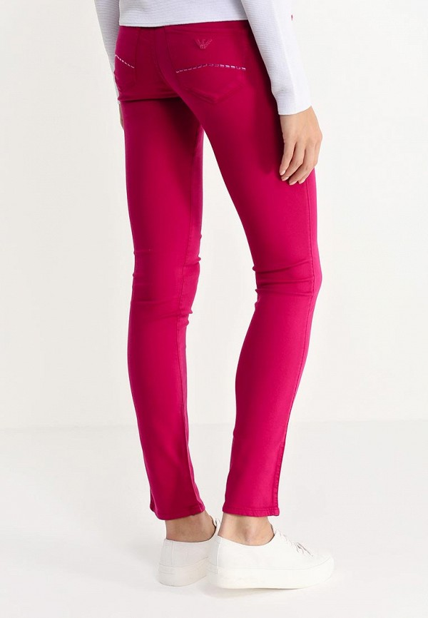 Зауженные джинсы Armani Jeans (Армани Джинс) B5J23 HJ: изображение 4