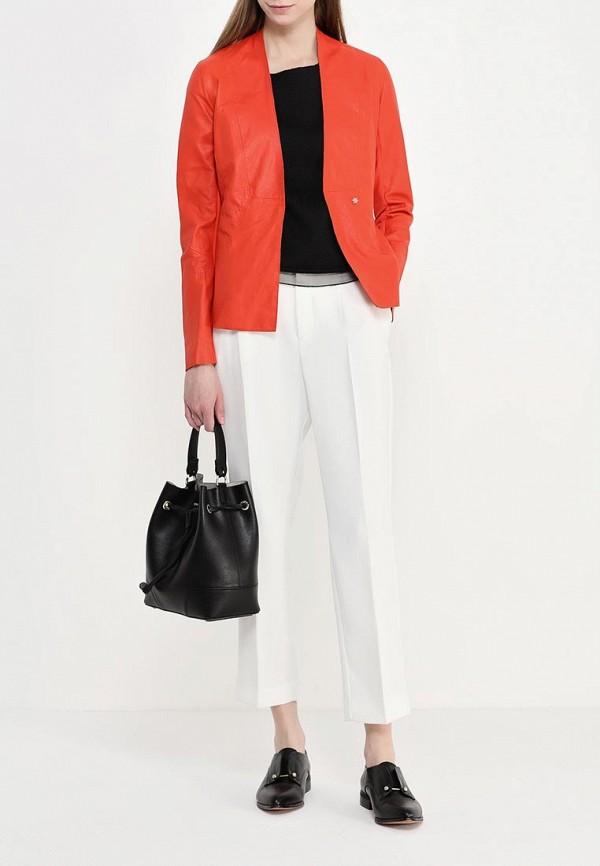 Кожаная куртка Armani Jeans (Армани Джинс) c5n28 wh: изображение 3