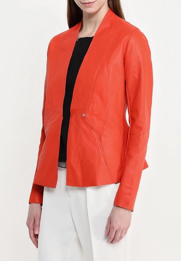 Кожаная куртка Armani Jeans (Армани Джинс) c5n28 wh: изображение 4
