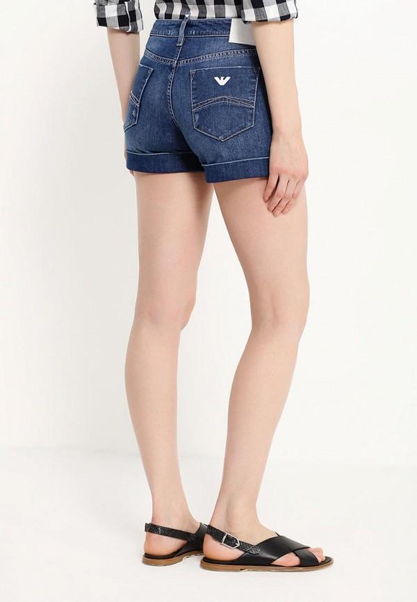 Женские джинсовые шорты Armani Jeans (Армани Джинс) C5J09 5E: изображение 4