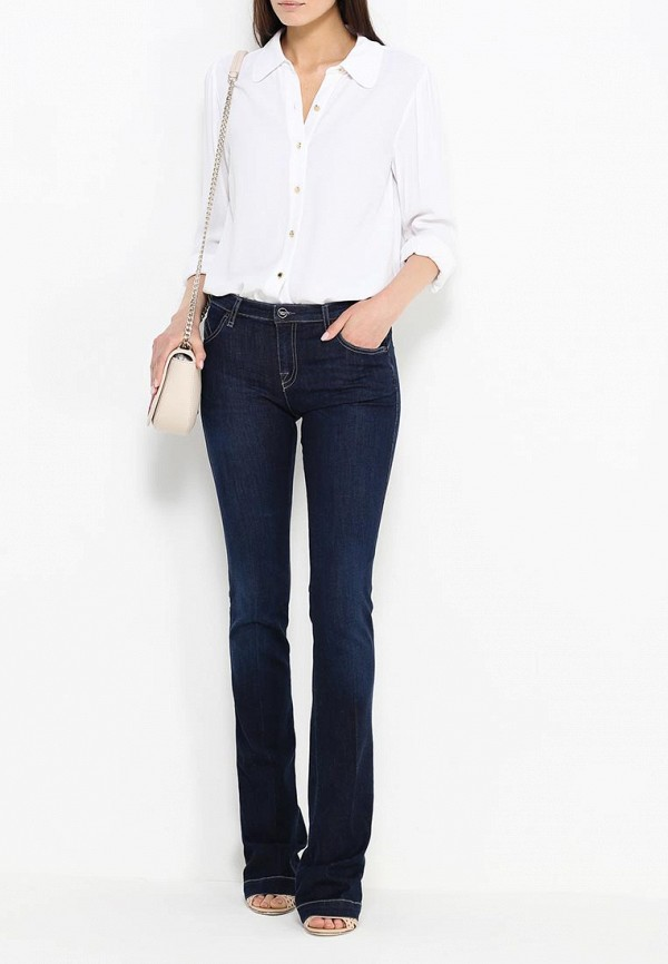 Широкие и расклешенные джинсы Armani Jeans (Армани Джинс) C5J07 5C: изображение 4