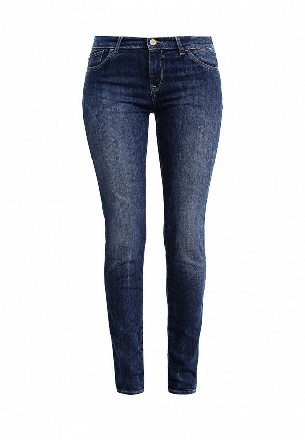Зауженные джинсы Armani Jeans (Армани Джинс) 6X5J23 5D03Z: изображение 1