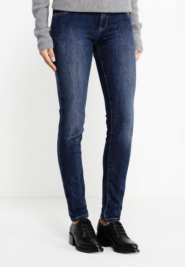 Зауженные джинсы Armani Jeans (Армани Джинс) 6X5J23 5D03Z: изображение 3