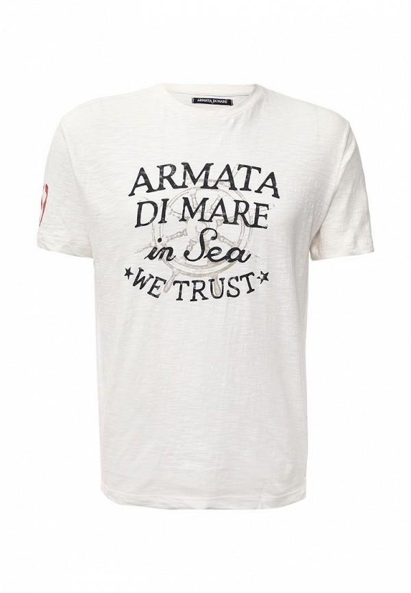 Футболка с надписями Armata di Mare 5352577