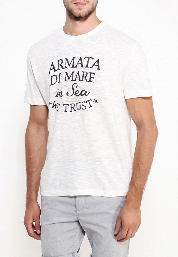 Футболка с надписями Armata di Mare 5352577: изображение 3