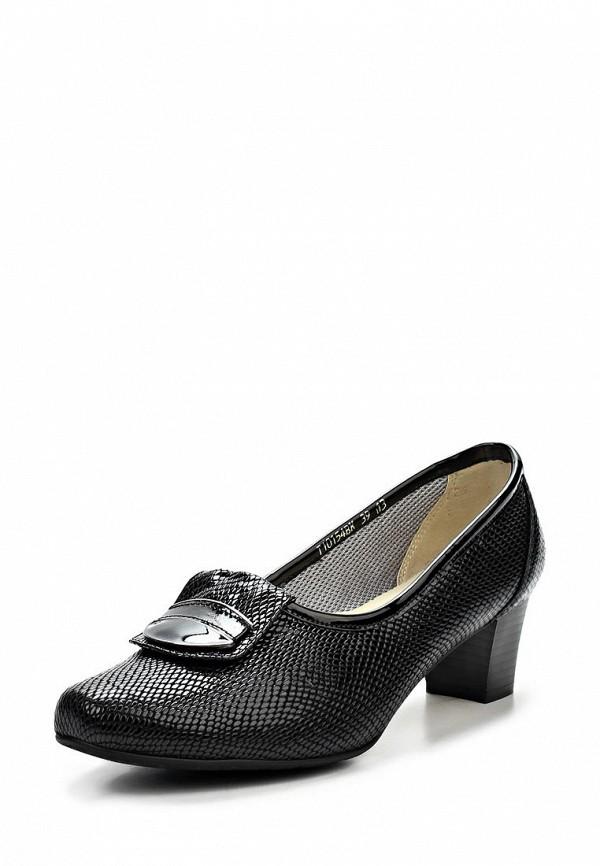Туфли на каблуке Ascalini T10154BK: изображение 1