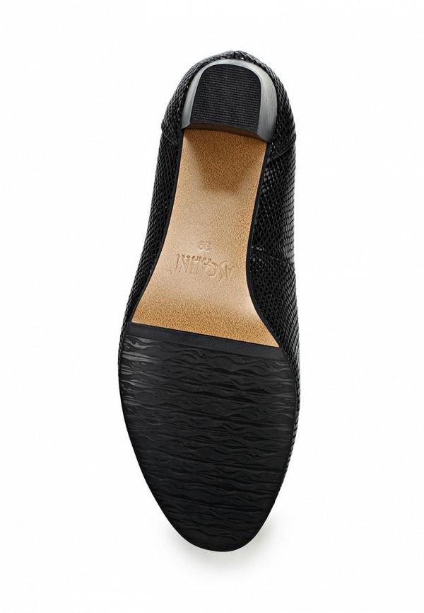 Туфли на каблуке Ascalini T10154BK: изображение 3