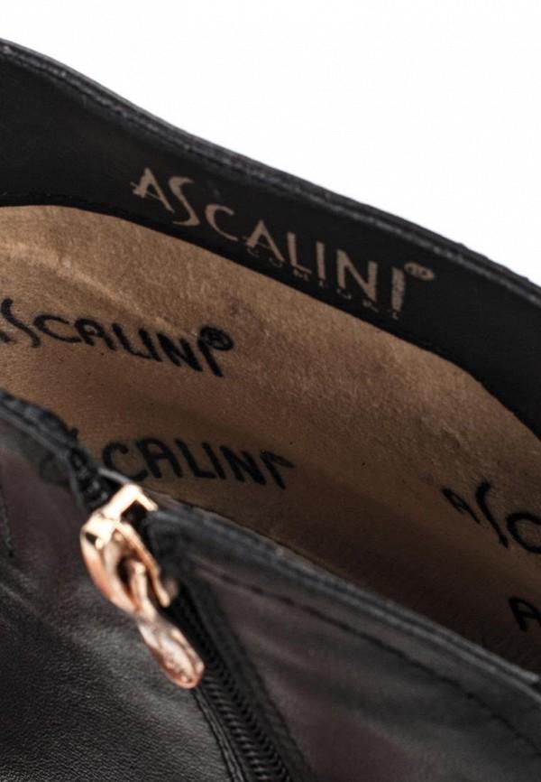Ботильоны на каблуке Ascalini D10418BK: изображение 5
