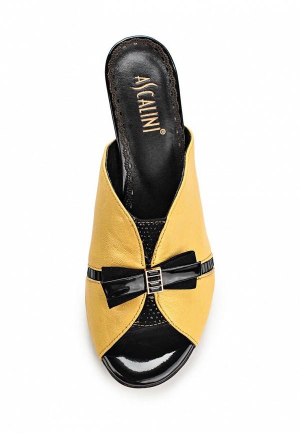 Женские сабо на каблуке Ascalini L15045: изображение 4