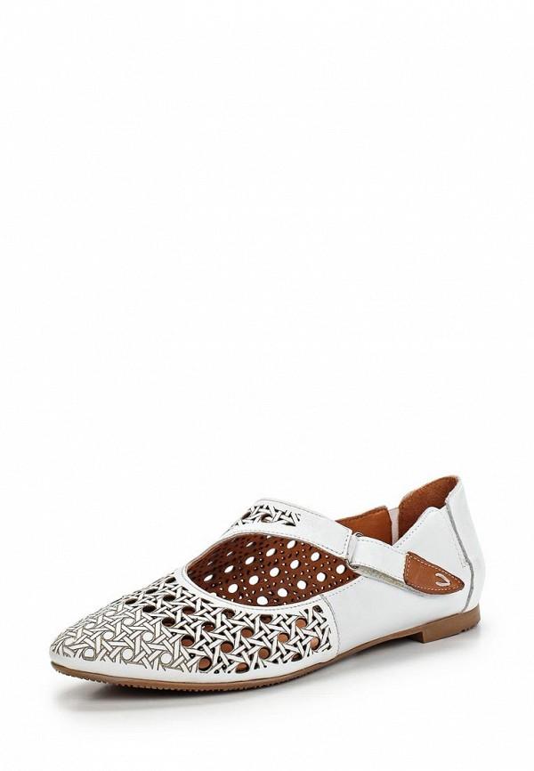 Туфли на плоской подошве Ascalini R1454: изображение 1