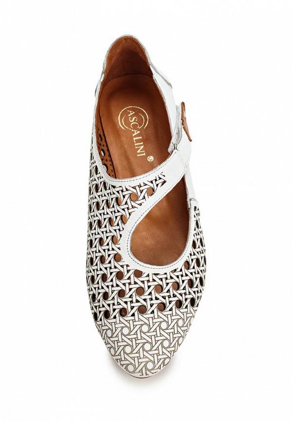 Туфли на плоской подошве Ascalini R1454: изображение 4