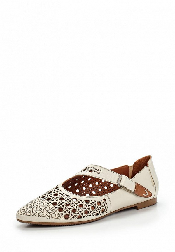 Туфли на плоской подошве Ascalini R1455: изображение 1