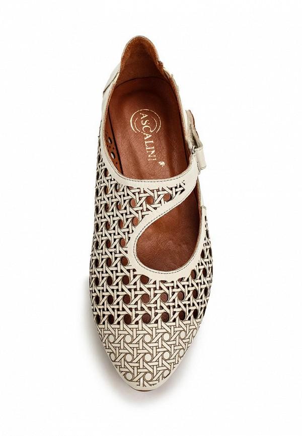 Туфли на плоской подошве Ascalini R1455: изображение 4