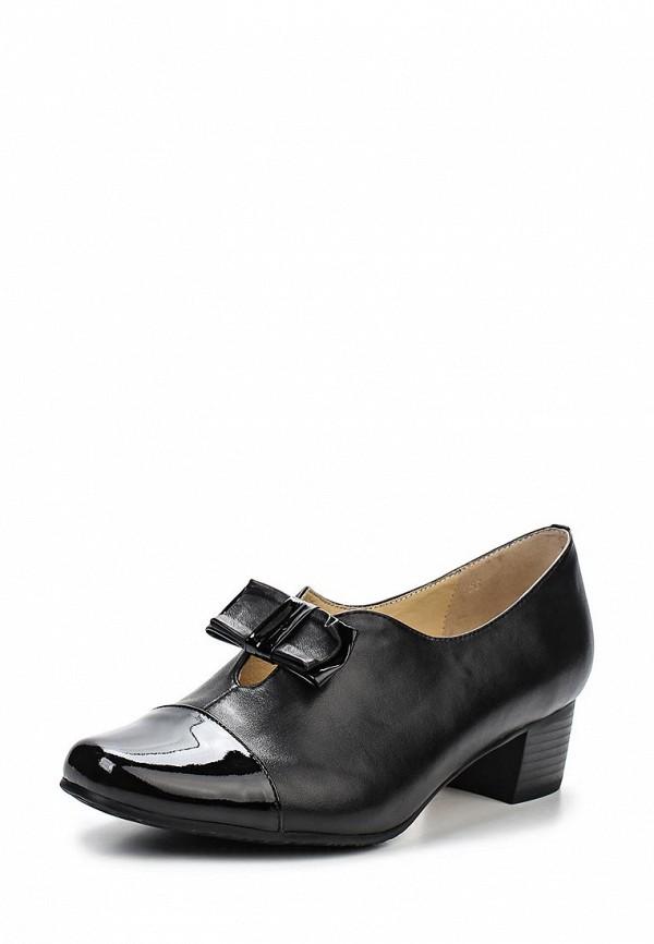 Туфли на плоской подошве Ascalini T10423BK