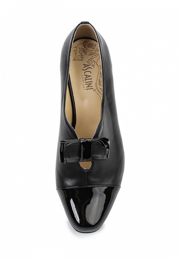 Туфли на каблуке Ascalini T10423BK: изображение 4