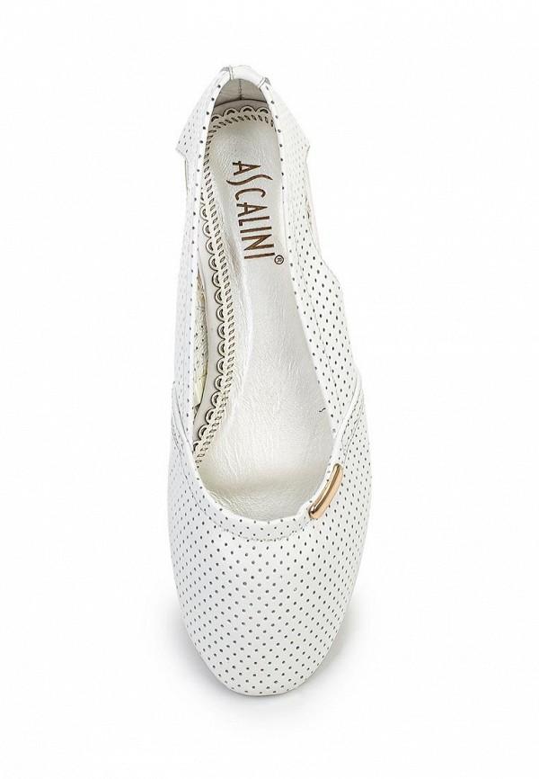 Туфли на плоской подошве Ascalini TO15741: изображение 4