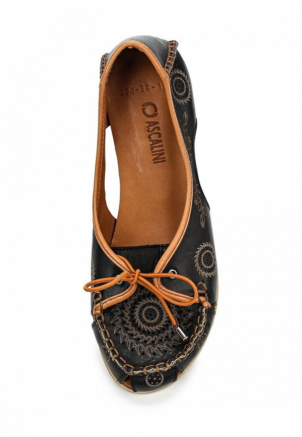 Туфли на плоской подошве Ascalini R1881: изображение 4