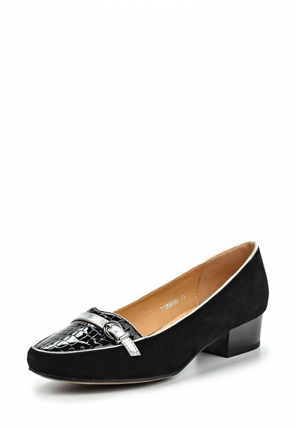 Туфли на плоской подошве Ascalini T12069BK
