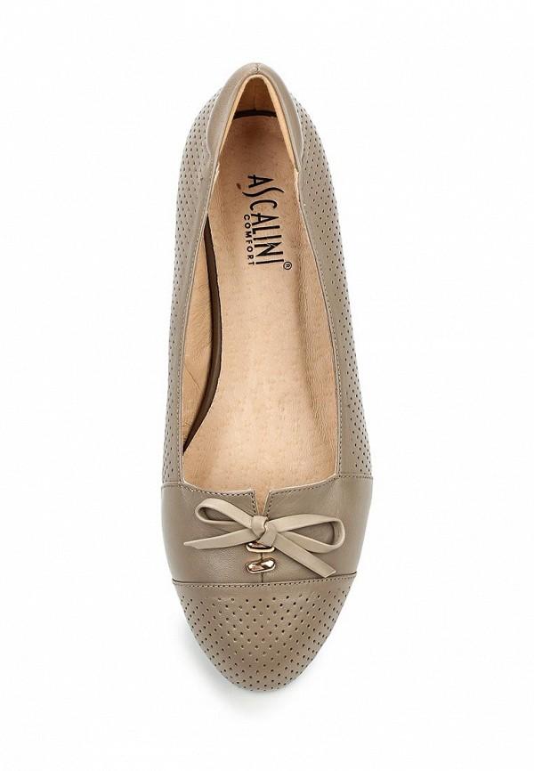 Туфли на плоской подошве Ascalini T12170: изображение 4