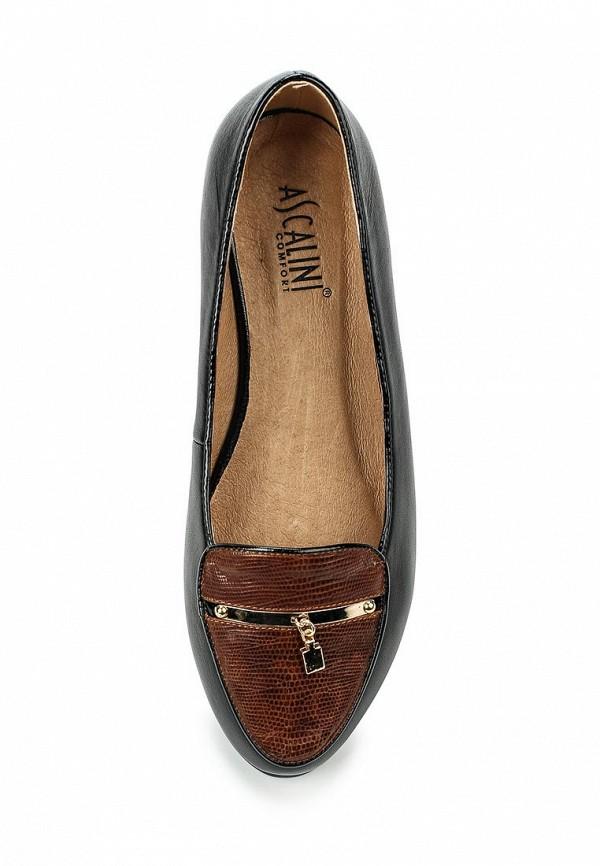 Туфли на плоской подошве Ascalini T12574: изображение 4
