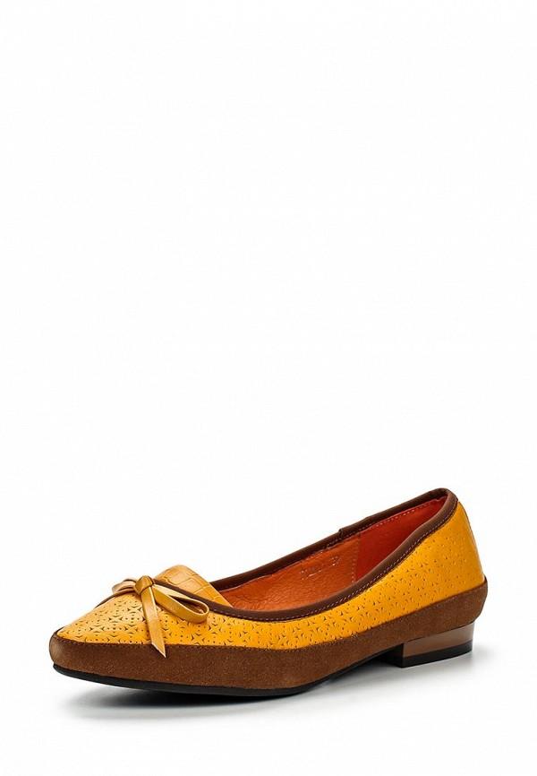 Туфли на плоской подошве Ascalini T12631