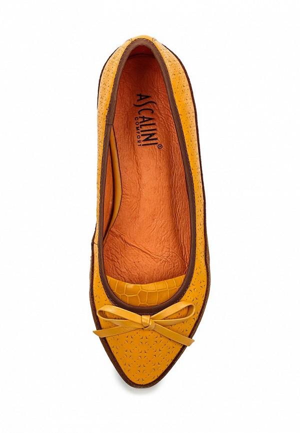 Туфли на плоской подошве Ascalini T12631: изображение 4