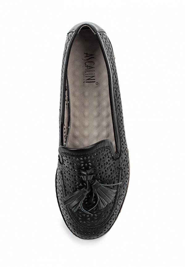 Туфли на плоской подошве Ascalini TO13408: изображение 4