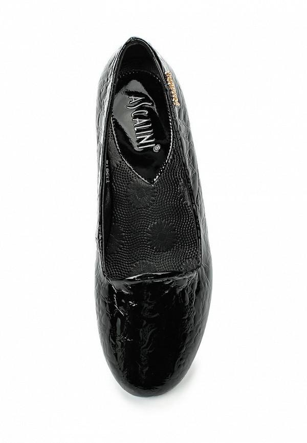 Туфли на танкетке Ascalini T15814: изображение 4