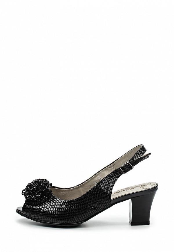 Босоножки на каблуке Ascalini L9578BK: изображение 2