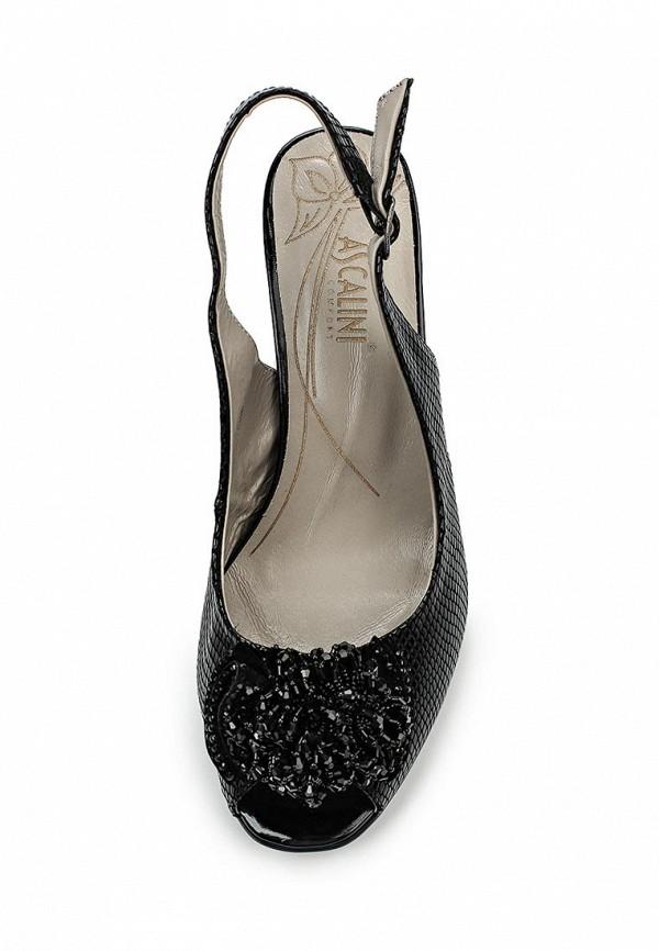 Босоножки на каблуке Ascalini L9578BK: изображение 4